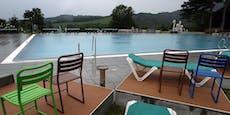 Regenwetter vermiest am Wochenende jeden Freibadbesuch