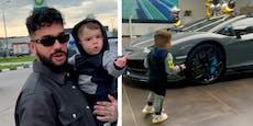 Rapper schenkt zweijährigem Sohn 640-PS-Lamborghini