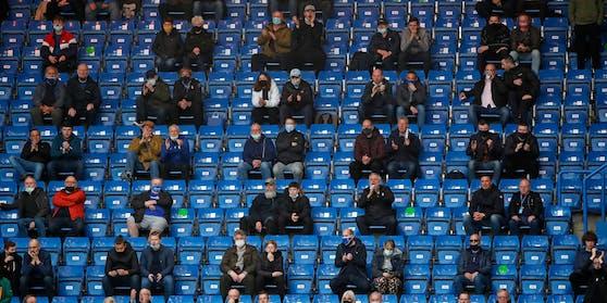 Zuschauer beim FA-Cup-Finale zwischen Chelsea und Leicester am 18. Mai