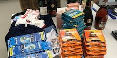 Diebesbande stahl Waren im Wert von 20.000 Euro