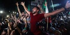Hamas feiert Waffenruhe als Sieg über Israel