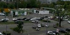 Verkehrschaos wegen Feiertag am Wiener Gürtel