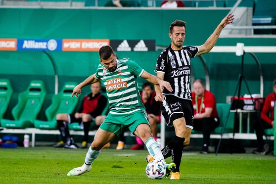 Rapid schlug den LASK am letzten Liga-Spieltag mit 4:0.