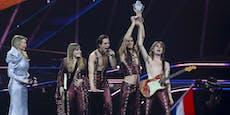 Sieg für Italo-Rocker! Der nächste ESC geht nach Rom