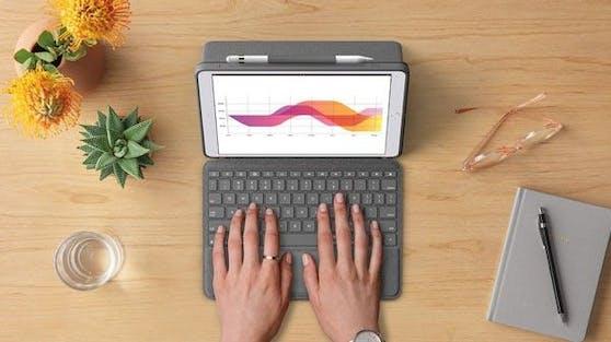 Logitech Combo Touch für die neue iPad Pro Generation erhältlich.
