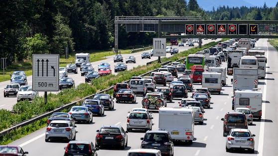 Stau auf der Brenner Autobahn (Symbolbild)