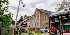 Wohnhaus in Petzenkirchen stand in Flammen