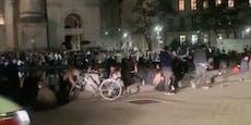 Platzsperre beim Karlsplatz nach Protest aufgehoben