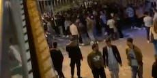 Bier-Party in der Wiener City eskaliert zu Schlägerei