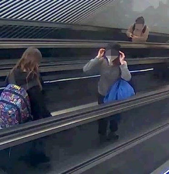 Die beiden Mädchen wurden am Salzburger Bahnhof zum letzten Mal gesehen.