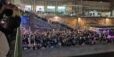 Hunderte Teenies feiern gigantischen Rave am Donaukanal