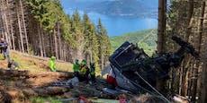 Seilbahn stürzt 100 Meter ab – mehrere Tote in Italien