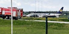 Flieger mit Österreicher an Bord zur Landung gezwungen