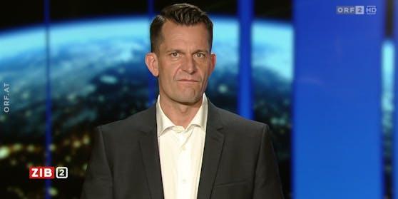 """Gesundheitsminister Wolfgang Mückstein in der """"ZIB 2"""""""