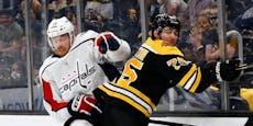 Raffl scheitert mit Washington Capitals im NHL-Play-off