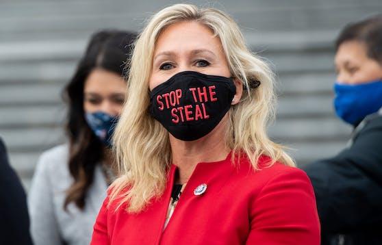 Die US-Kongressabgeordnete Marjorie Taylor Greene hat die Maskenpflicht im US-Repräsentantenhaus mit dem Holocaust verglichen.
