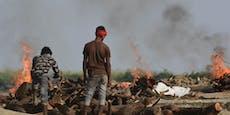 Indien überschreitet Schwelle von 300.000 Corona-Toten