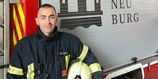 Floriani und zwei Polizisten verhinderten Wohnungsbrand