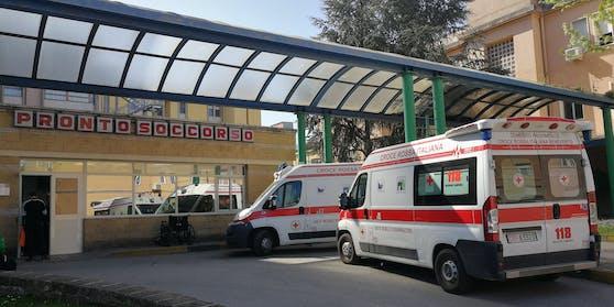 Im Bild: Notaufnahme eines Krankenhauses in Italien. (Symbolbild)