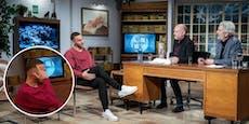 """Arnie zeigt Stermann Vogel: """"Kannst Nächsten fragen"""""""