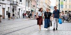 Linz entdeckt jetzt die Fußgänger für sich