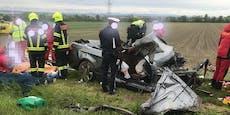 Ein Toter und zwei Schwerverletzte bei Verkehrsunfall