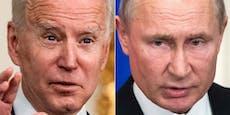 Biden und Putin treffen sich am 16. Juni in Genf