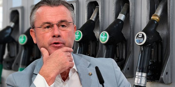 Norbert Hofer fordert eine Umstellung auf E10 Treibstoff in Österreich.