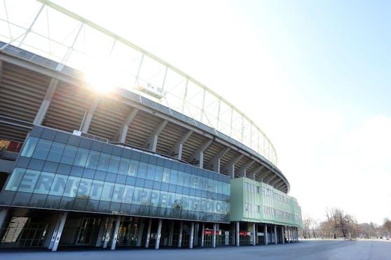 Rund um das Ernst-Happel-Stadion in der Leopoldstadt entstehen neue Trainingsplätze.