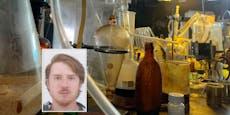 Trio betrieb in Weinkeller in NÖ ein Profi-Drogenlabor