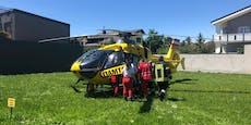 Zwei Opfer nach Wohnungsbrand ins Wiener AKH geflogen