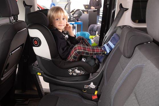 Der ÖAMTC testete 20 Kindersitze auf Sicherheit, Bedienung,Ergonomie sowie Schadstoffgehalt.