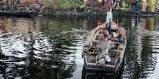 140 Menschen werden nach Bootsunglück vermisst