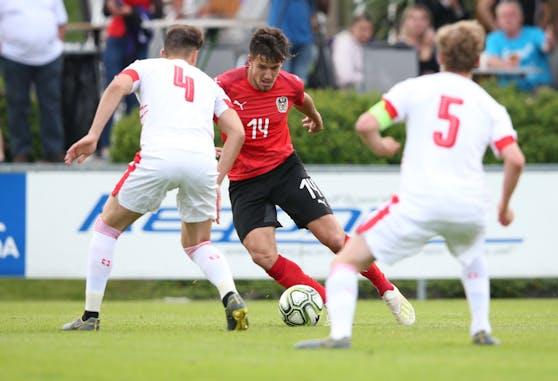 U21-Teamspieler Jonas Auer