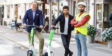Scooter-Anbieter schickt Ordner auf Streife