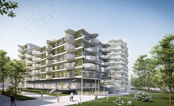 Mit dem Village im Dritten entstehen auf den ehemaligen Aspanggründen (Wien-Landstraße) bis 2026 rund 1.900 Wohnungen, davon 800 gefördert.