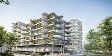 Wiener Wohnprojekt wird urbanes Dorf mit Öko-Labor