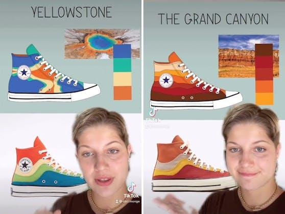 Cecilia Monge fühlt sich von Converse beklaut und lässt ihrem Frust auf TikTok freien Lauf.