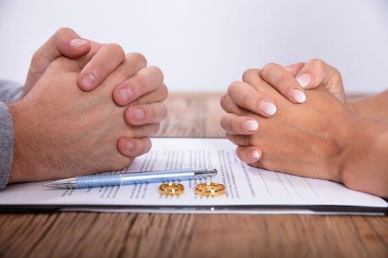 Die hohe Scheidungsrate wird erst für Herbst erwartet.