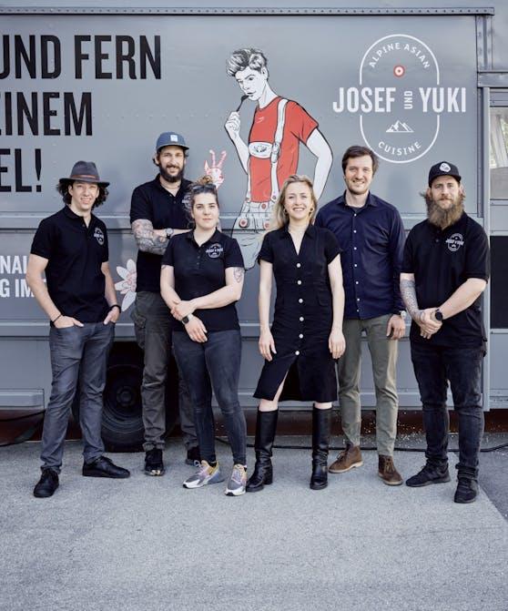 """""""JOSEF UND YUKI"""" tourt mit dem Foodtruck für drei Wochen durch Wien."""