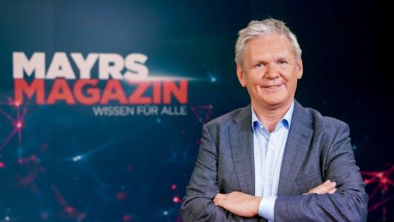 """Am Freitag startet das neue Format """"Mayrs Magazin"""" mit ORF-Wissenschaftschef Günther Mayr."""