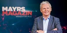 """Mayr: """"Das ZIB-Studio ist quasi mein zweiter Wohnsitz"""""""