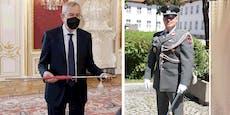 Österreichs Gardesoldaten sind nun noch schneidiger