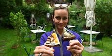 Cheesecakes am Stick schlagen in Wien wie die Bombe ein