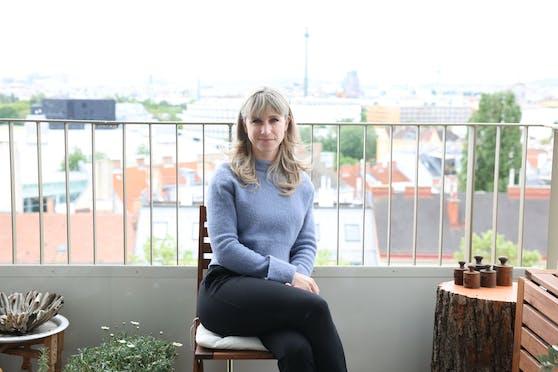 Alexa Stephanou (37), selbst von Long Covid betroffen, hat mit fünf anderen Frauen eine österreichweite Selbsthilfegruppe aufgebaut.