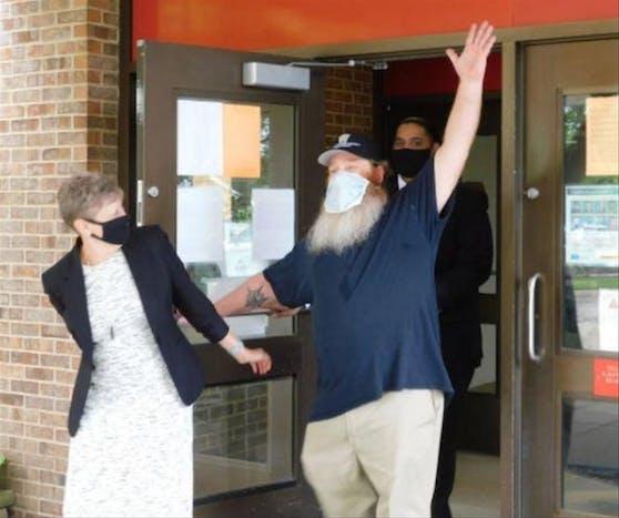 Nach 32 Jahren wieder frei: Gilbert Poole saß unschuldig im Gefängnis.