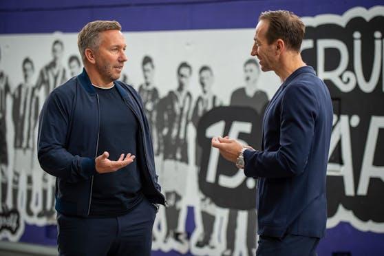 Manfred Schmid und Manuel Ortlechner.