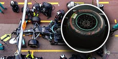 Längster Boxenstopp beendet: Bottas-Rad abmontiert