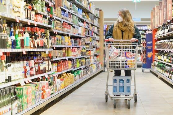 Blick in einen Supermarkt. (Symbolfoto)