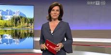 Zuschauer entrüstet über Outfit von ORF-Moderatorin